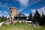 Josefova věž se nachází 16 km od Českého Krumlova