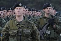 Příslušníci Kosovských bezpečnostních sil (KSF)