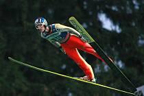 Skokan na lyžích Jakub Janda.