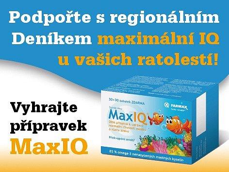 Podpořte s regionálním Deníkem  maximální IQ u vašich ratolestí!