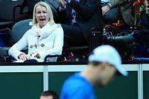 Legendární Jana Novotná dnes trénuje mladou tenistku Barboru Krejčíkovou.