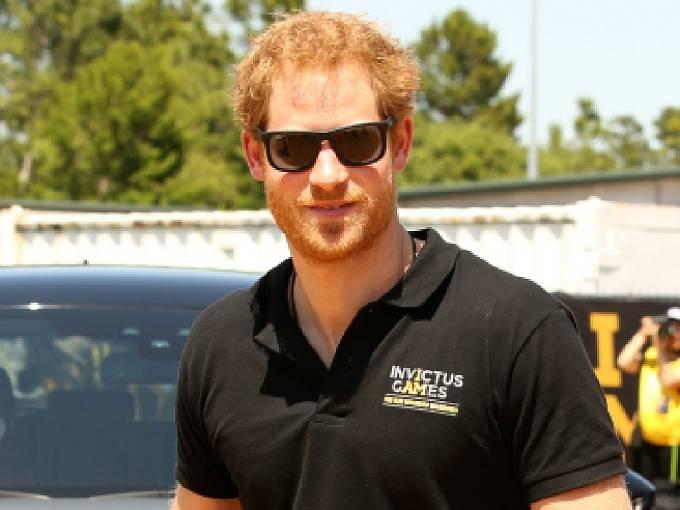 Britský princ Harry.