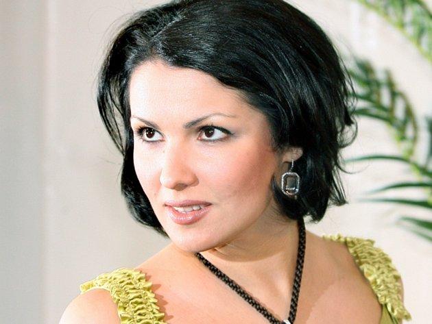 Světoznámá ruská sopranistka Anna Netrebková