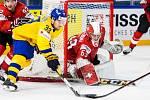 Švédové porazili Švýcary.
