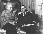 Albert Einstein s Thomasem Mannem