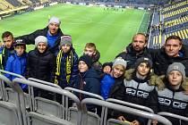 Vítězové 21. ročníku McDonald's Cupu navštívili zápas Borussie Dortmund