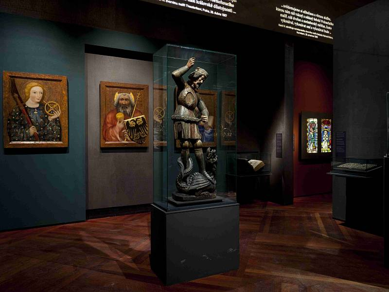 Výstava Císař Karel IV. 1316–2016
