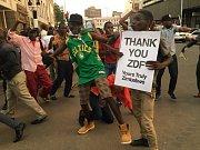 Oslavy v Harare