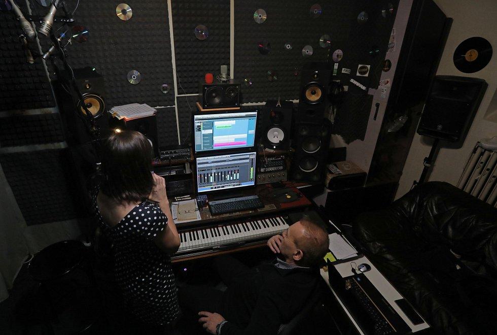 reportáž z nahrávání