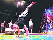 LEGENDA. Z vystoupení Cirque du Soleil před dvěma lety v Praze.