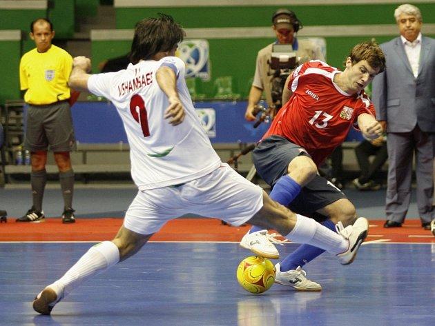 Čeští futsalisté nestačili na výběr Íránu a na MS skončili v základní skupině.