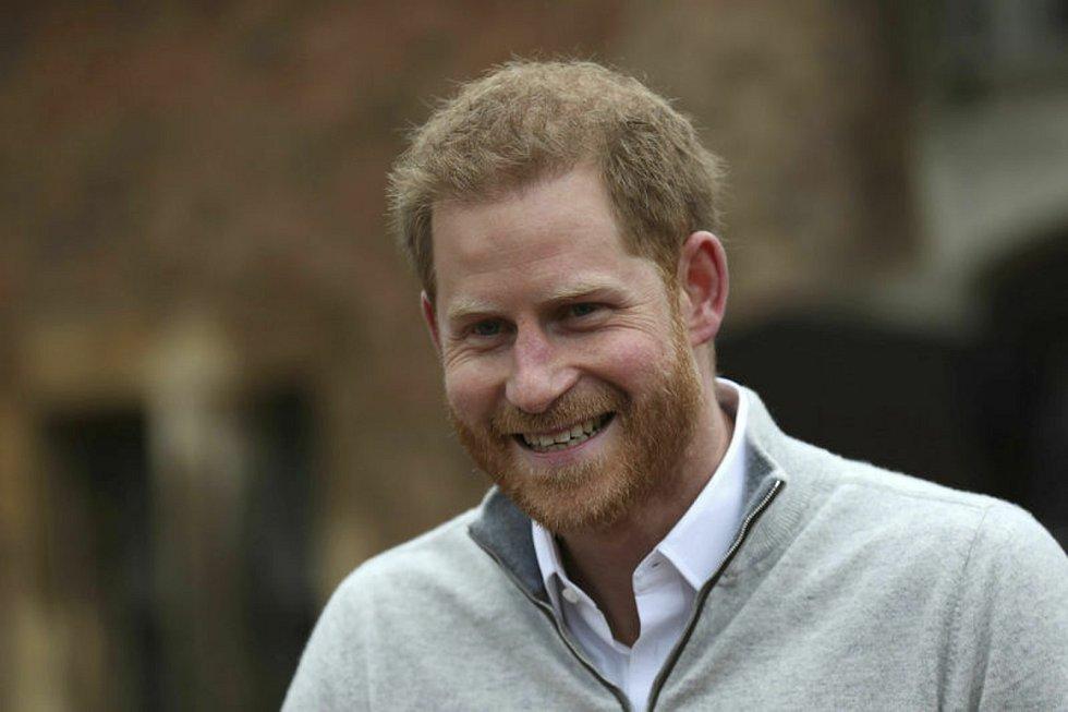 Princ Harry  - Britský princ Harry vydá své paměti