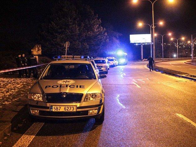 Brněnská policie vyšetřuje násilný trestný čin, který se stal dnes odpoledne v Černých Polích.