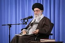 Íránský vůdce Alí Chameneí