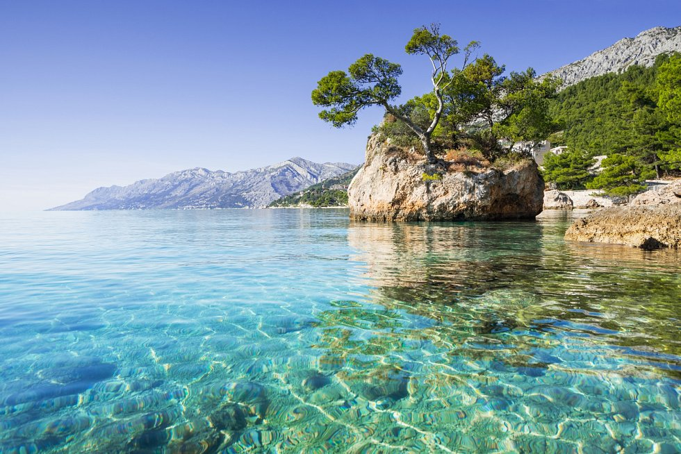 Chorvatsko láká na krasnou přírodu a teplé počasí.