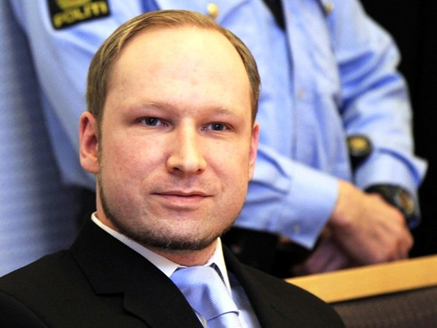 Norský pravicový extremista Anders Behring Breivik.
