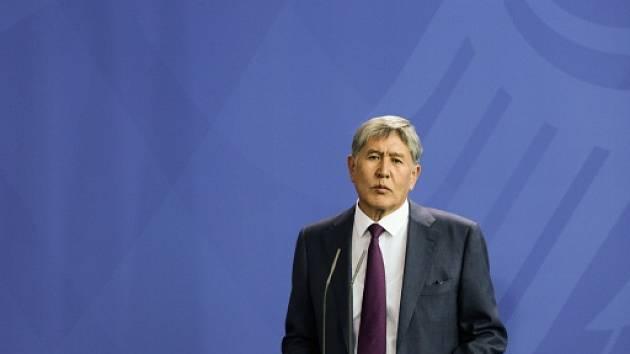 Kyrgyzský prezident Almazbek Atambajev.