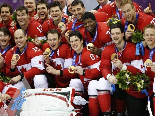Hokejisté Kanady získali na olympijských hrách v Soči zlaté medaile, ve finále nedali šanci Švédsku.