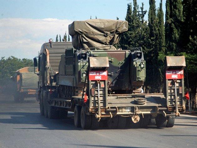 Syrské armádní jednotky.
