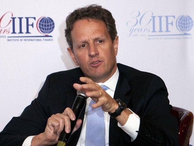 Bývalý americký ministr financí Timothy Geithner.
