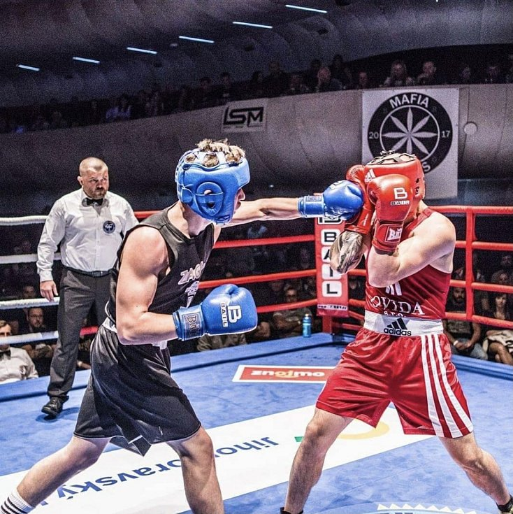 Boxer Miloš Beránek