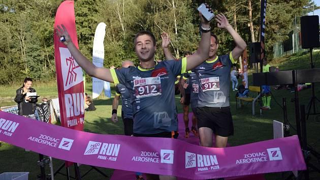 Běžecký závod Run Praha - Plzeň