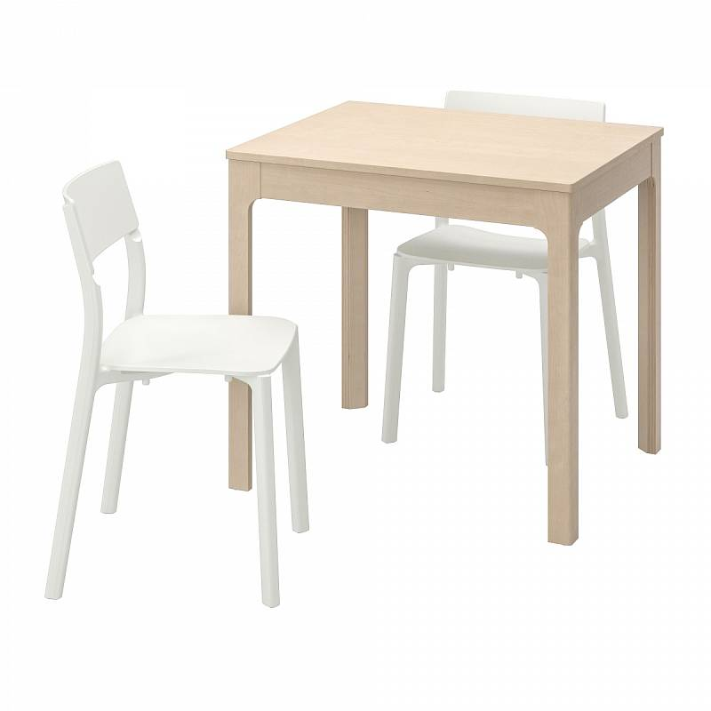 Stůl EKEDALEN a 2 židle JANINGE