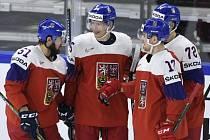 Česko - Rakousko, česká radost z druhého gólu Filipa Chytila.
