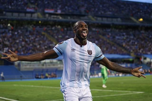 Fotbalista Michail Antonio z West Ham United.