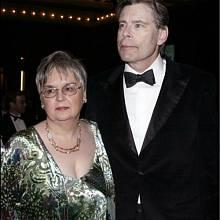 S ženou Tabithou