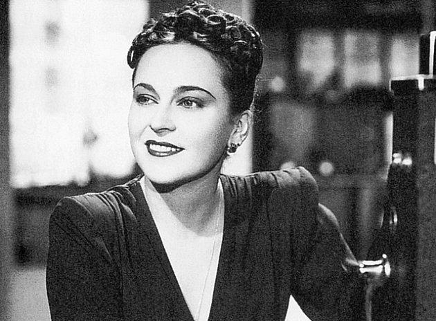 Zlaté dno. Zita Kabátová ve svém filmu z roku 1942, posledním před dlouholetou filmovou odmlkou.