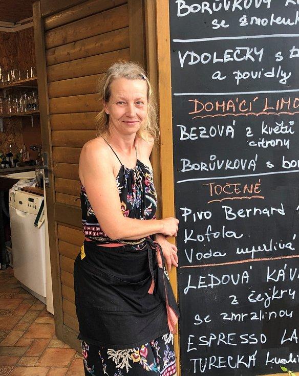 Renata Blanická, majitelka občerstvení U Princezny na Bezdězu
