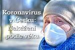 Infikovaných osmdesátníků a starších pacientů je v České republice už téměř osm desítek.