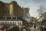 Pád Bastilly. Dobytí tohoto pařížského vězení je označováno jako počátek Velké francouzské revoluce. Foto: Wikimedia Commons, volné dílo