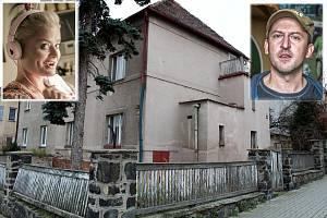 Sourozenci Luďan (Martin Hofmann) a Dáša (Erika Stárková) žijí v komediálním seriálu Most! v této vile.