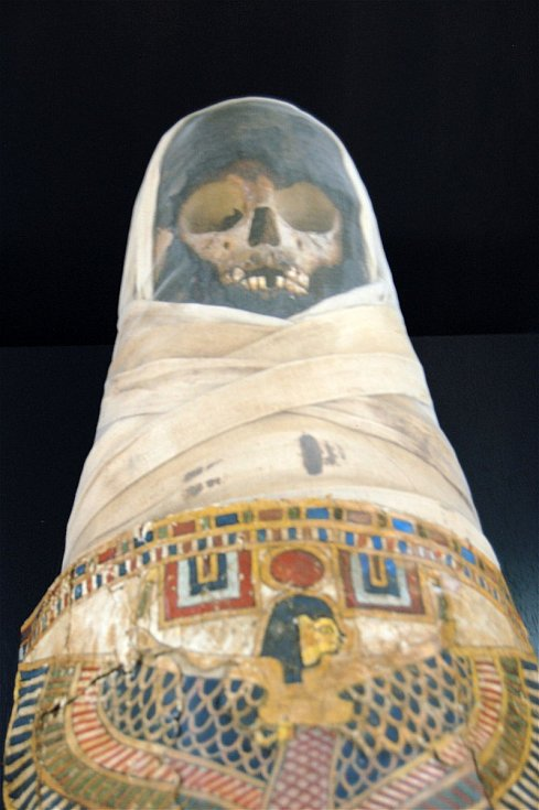 Tento exponát, rovněž pocházející z Egypta, je k vidění v Zeeuws Museu v holandském Middleburgu.