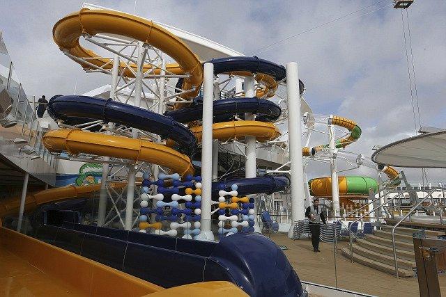 Největší loď světa Symphony of the Seas