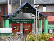 Nemocnice v Salisbury, kde leží Sergej Skripal