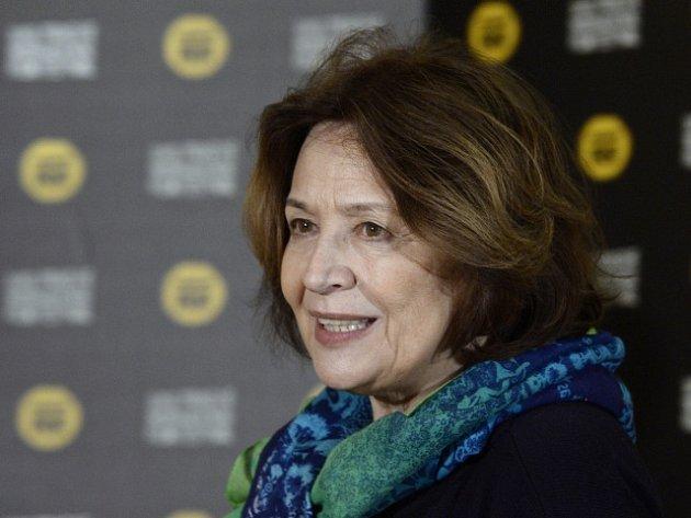 Herečka Emília Vášáryová.