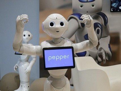 Humanoidní robot Pepper.