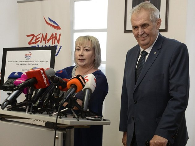 Miloš Zeman a Ivana Zemanová