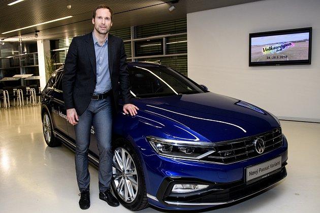 Petr Čech uvozu Volkswagen.