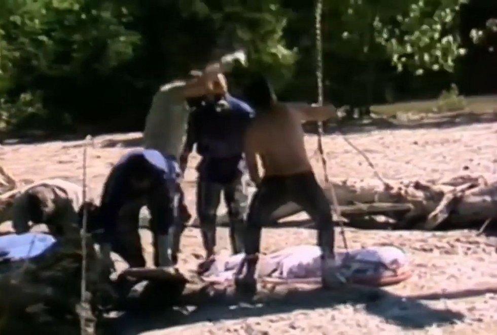 Vyprošťovací práce v údolí italské říčky Stava byly náročné fyzicky i psychicky