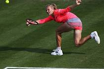 Kateřina Siniaková na turnaji v Birminghamu