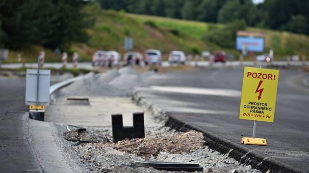 Stavba dálnice - ilustrační foto.