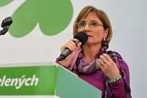 Novou předsedkyní Strany zelených se stala starostka brněnské městské části Nový Lískovec Jana Drápalová.