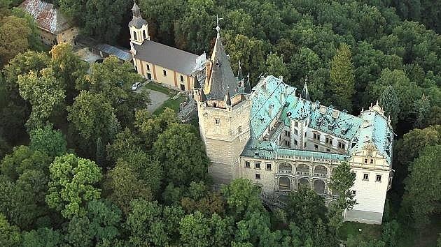 Pohádkový hrad Stránov