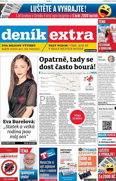 Titulka Extra červen