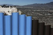 Mexiko odmítá zaplatit za zeď na hranici obou zemí. Ilustrační foto.