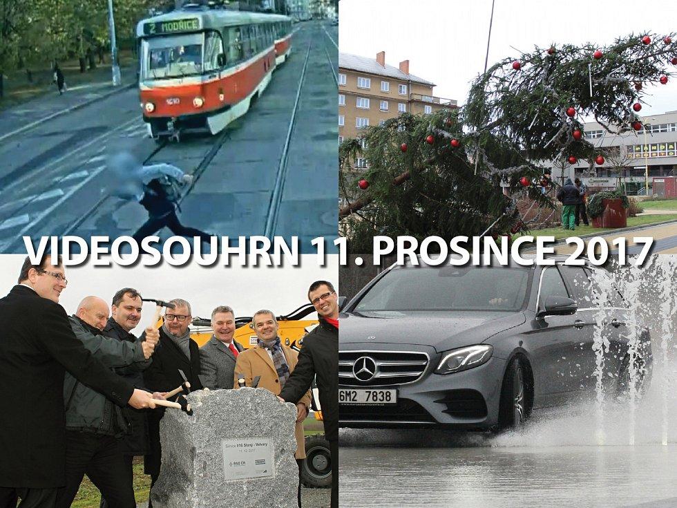 Videosouhrn Deníku – pondělí 11. prosince 2017